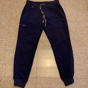 Figs navy blue joggers